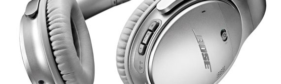Back In Stock – Bose Quietcomfort 35 Acoustic Noise Cancelling Headphones