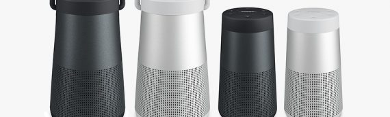 Now In Stock – Bose Revolve & Bose Revolve + Bluetooth Speakers