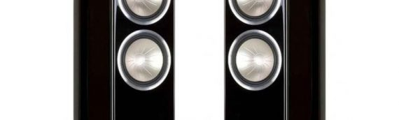 On demonstration: Monitor Audio Gold 300 Speakers